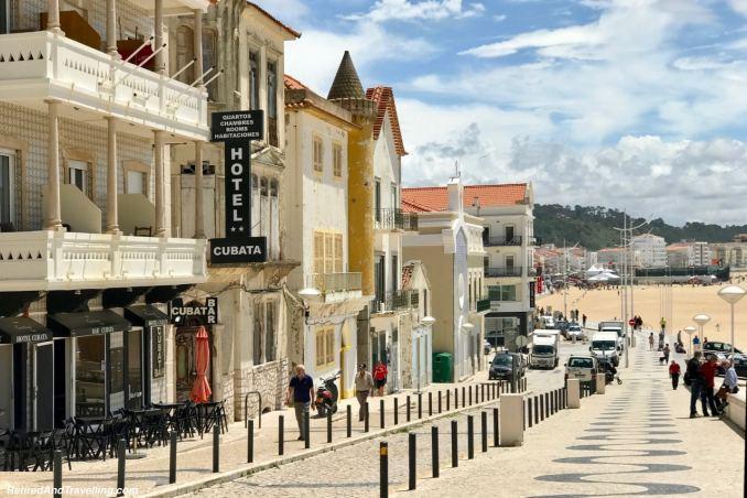 Cobblestone Beach Streets - Beach Town of Nazaré.jpg