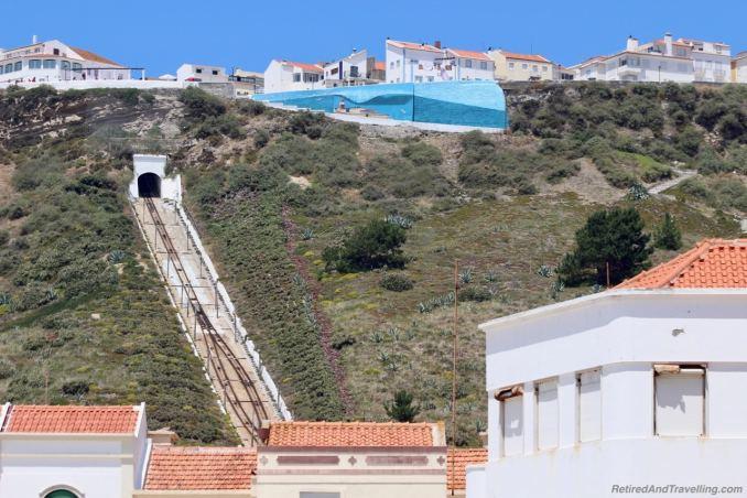 Beach Cliffs Funicular - Beach Town of Nazaré.jpg