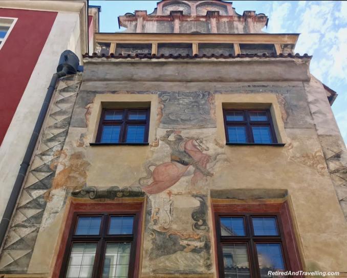 Cesky Krumlov Building Art - Medieval Town Of Cesky Krumlov.jpg
