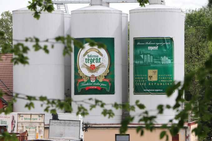 Trebon Regent Beer - Stay In Slavonice Czech Republic.jpg