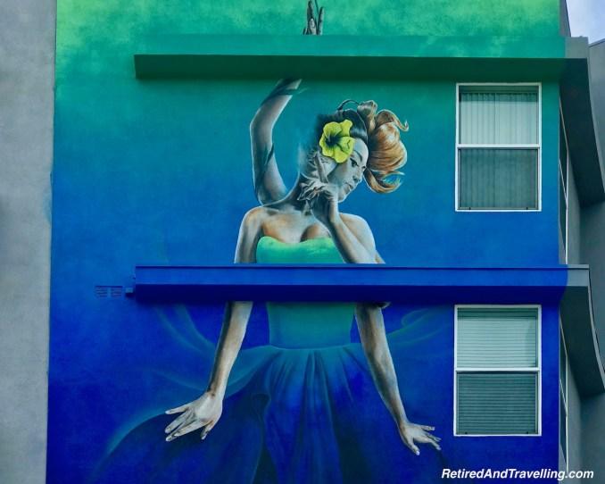 Dancer Street Art - Cruise From Long Beach In The Holiday Season.jpg
