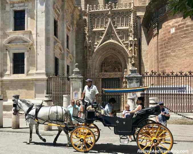 Cathedral Narrow Side Door - Santa Cruz Neighborhood in Seville Spain.jpg