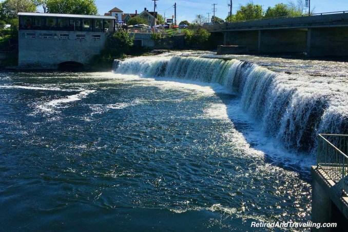 Fenelon Falls Town Falls - Kawartha Lakes Day Trip In The Summer Of Covid-19.jpg
