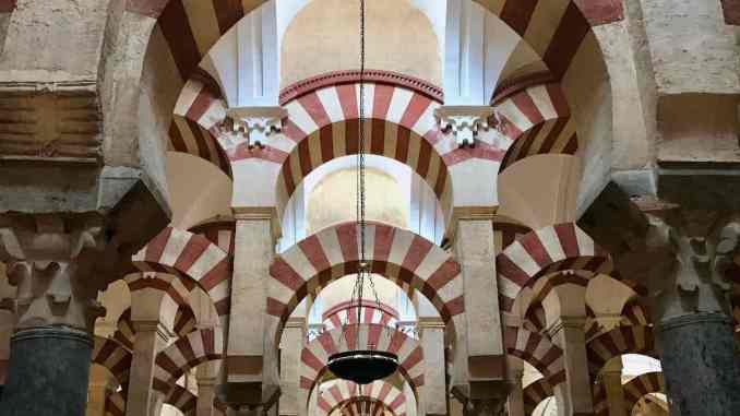 Religions Side By Side In The Mosque-Cathedral Of Córdoba Spain.jpg