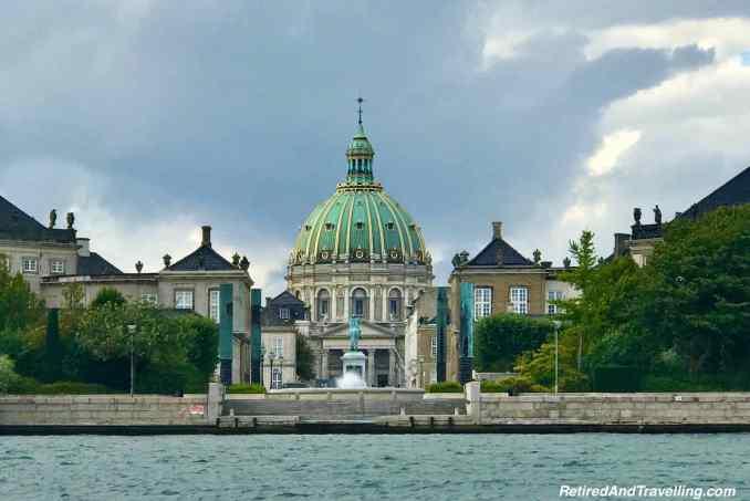 Amalienborg Palace Fredericks Church - Canal Boat Cruise in Copenhagen Denmark.jpg