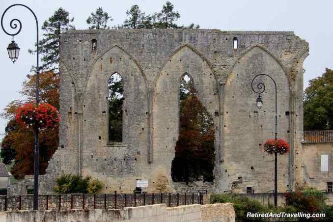 Saint Emilion France Great Wall Grandes Murailles Monastary - Cruising Along The Coast Of Western Europe.jpg