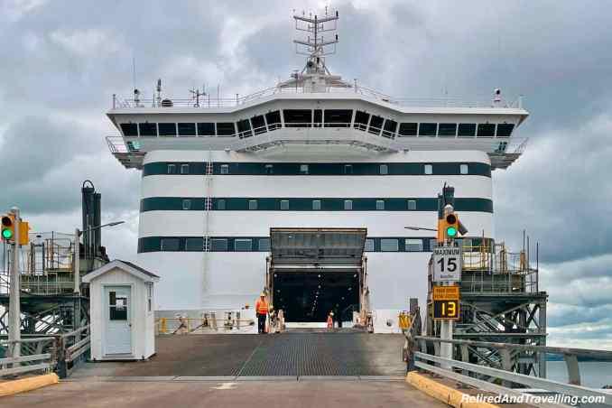 MV Highlander Ferry Loading - Ferry To Newfoundland From North Sydney Canada.jpg
