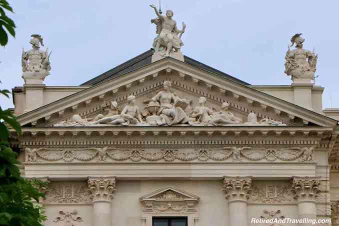 Building Art Pediment - Vienna City Sights in Austria.jpg