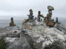 Rock Art on West Cliff Drive.