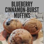 blueberry cinnamon-burst muffins