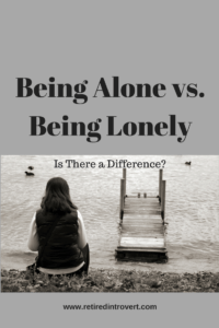 being alone