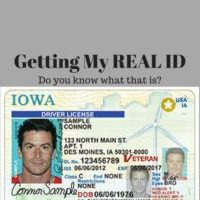 Getting my REAL ID