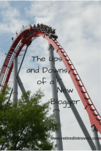 ups and downs of new blogger