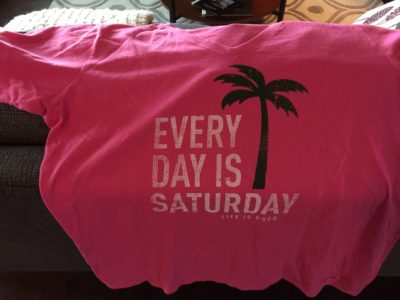 every day is saturday