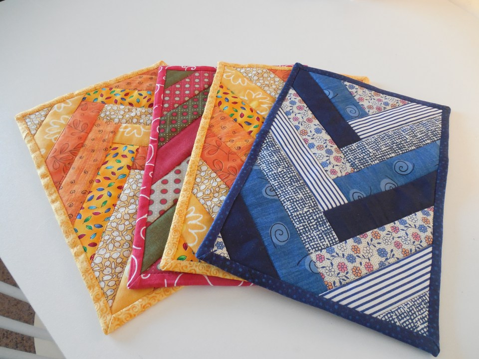 quilted trivets