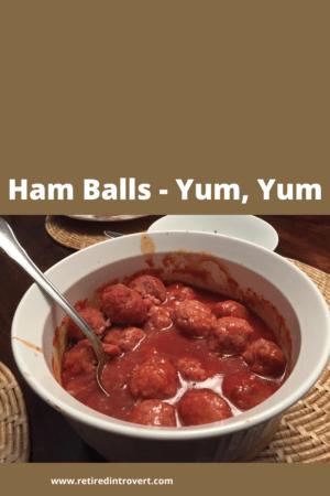 Ham Balls