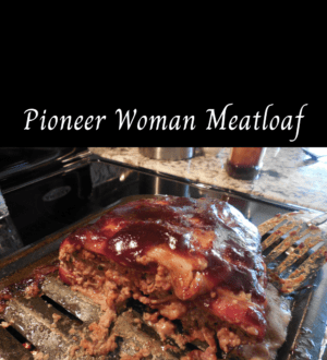 Pioneer Woman Meatloaf