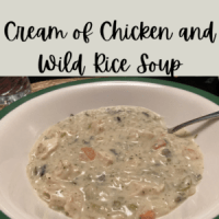 Cream of Chicken and Wild Rice Soup (Panera Copycat)