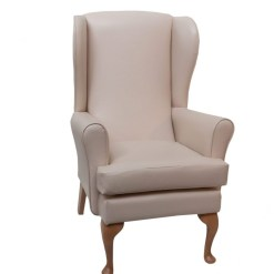 Adeline Orthopaedic Lounge Panaz Scratch resistant, www.retiredlifestyle.co.uk , high seat chairs, Fireside Chairs, high back chairs, wingback chair, elderly chairs.