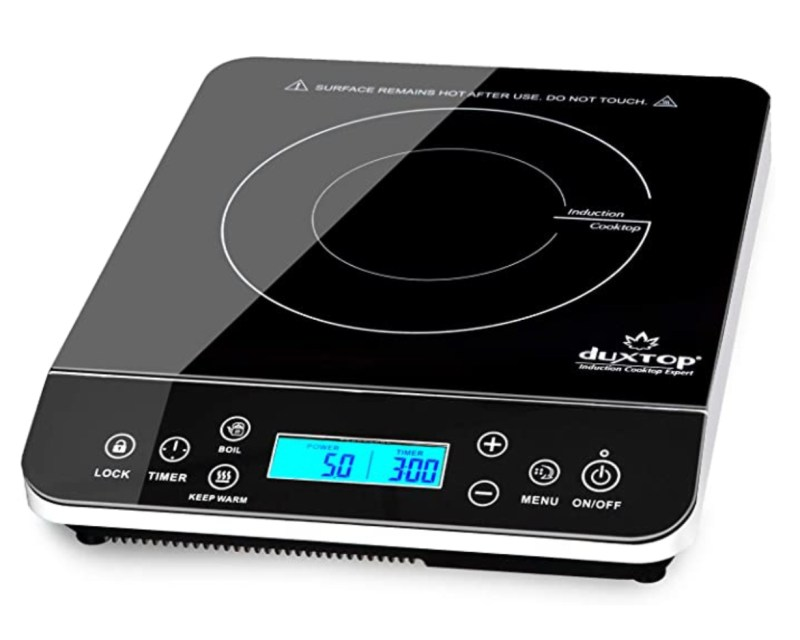 Duxtop Portable Induction Cooktop, Countertop Burner Induction Hot Plate
