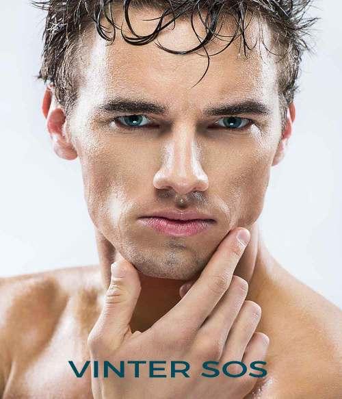 Vinter tør hud mænd