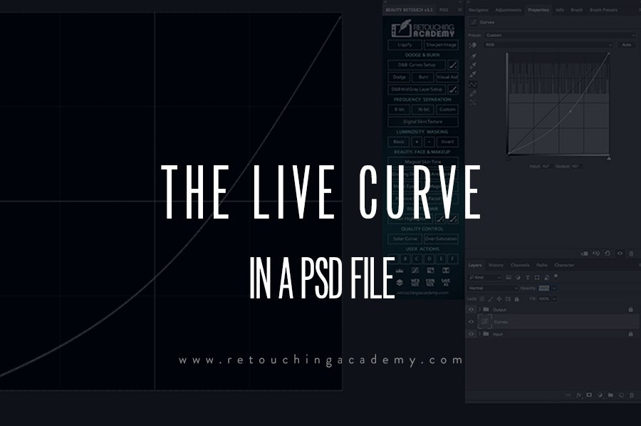 A PSD That Shows You What Every Adjustment Layer Is Doing Via Curves