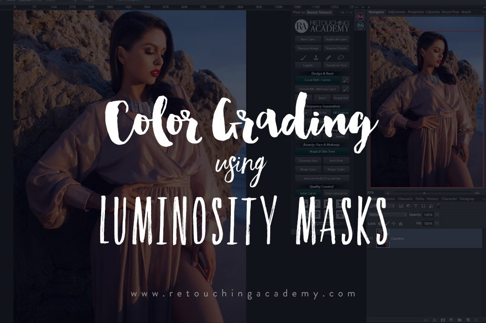 How to Color Grade Using Luminosity Masks