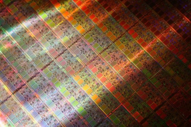 intel i7 extreme nehalem wafer