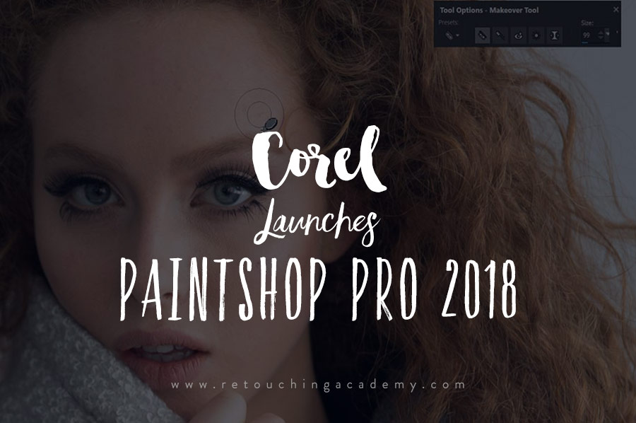 Corel Launches PaintShop Pro 2018