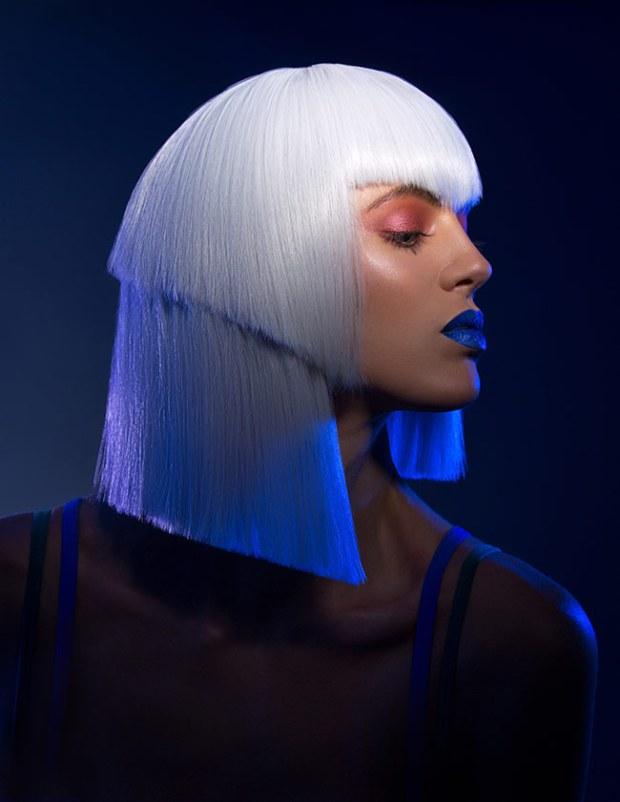 editorial retouching and high fashion beauty