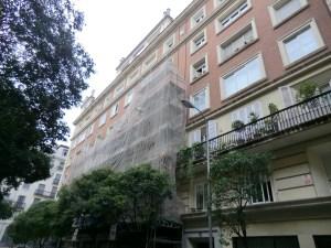 rehabilitacion fachadas Madrid Menendez Pelayo