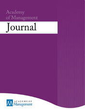 The Academy of Management Journal