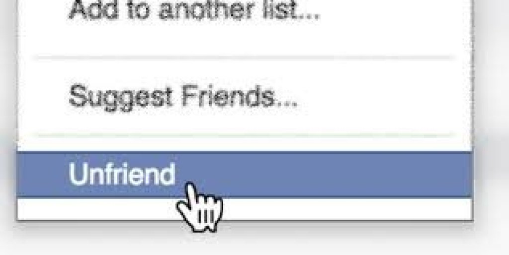 Delete fake friends