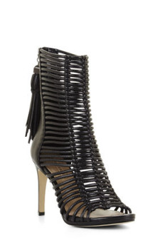 BCBG, LEDDER HIGH-HEEL STRAPPY DAY SANDAL