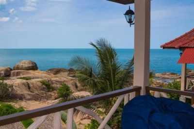 Superior Beach Bungalow Balcony