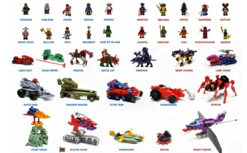 Custom LEGO Masters Of The Universe Retrenders