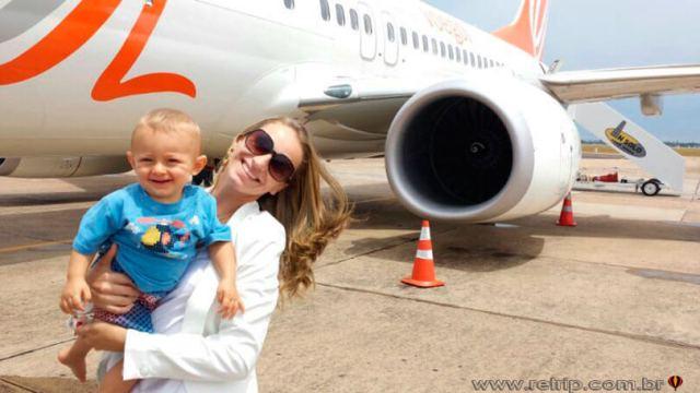Viagem com filhos