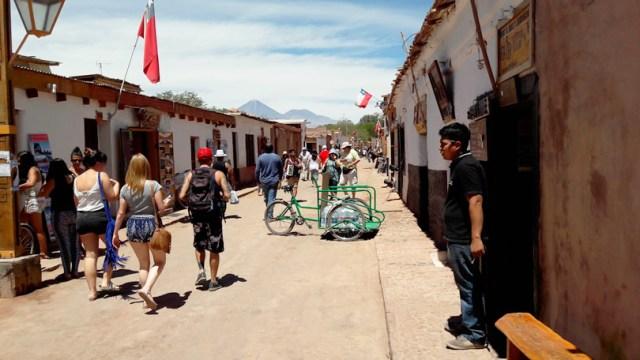 Caminhadas pelas ruas de San Pedro de Atacama