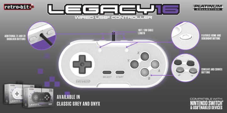 Legacy16 - Wired USB Diagram