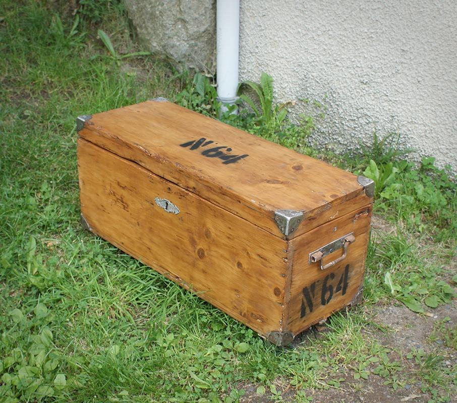 Caisse de menuisier en bois