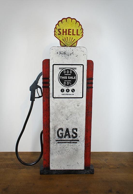 Enseigne pompe à essence