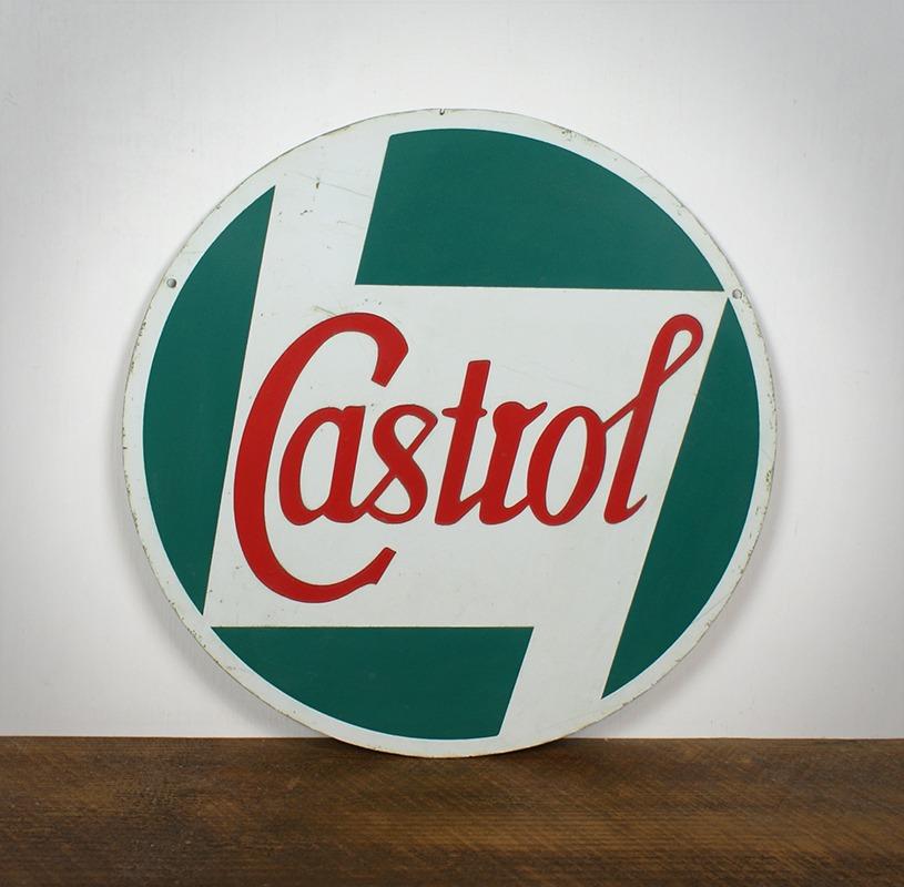 Plaque Castrol