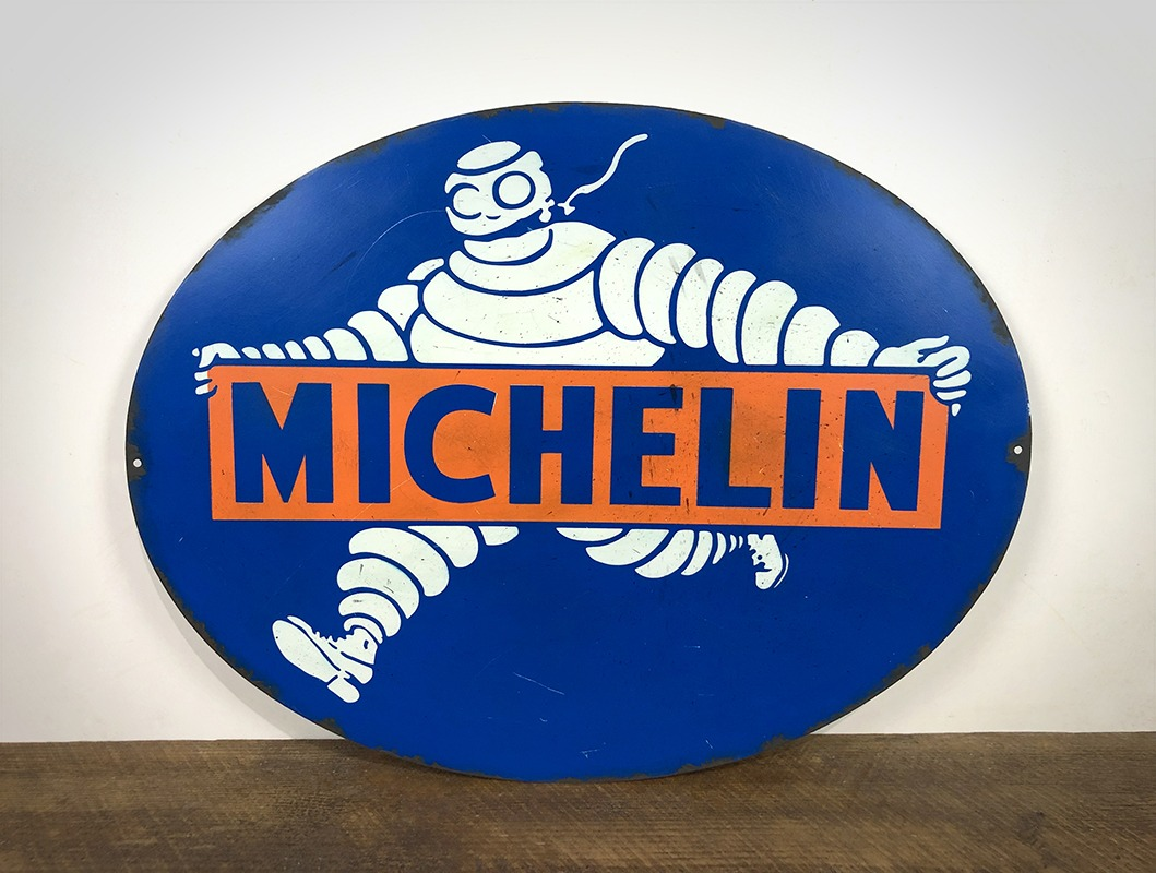Plaque Michelin
