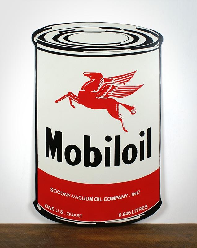 Plaque MobilOil
