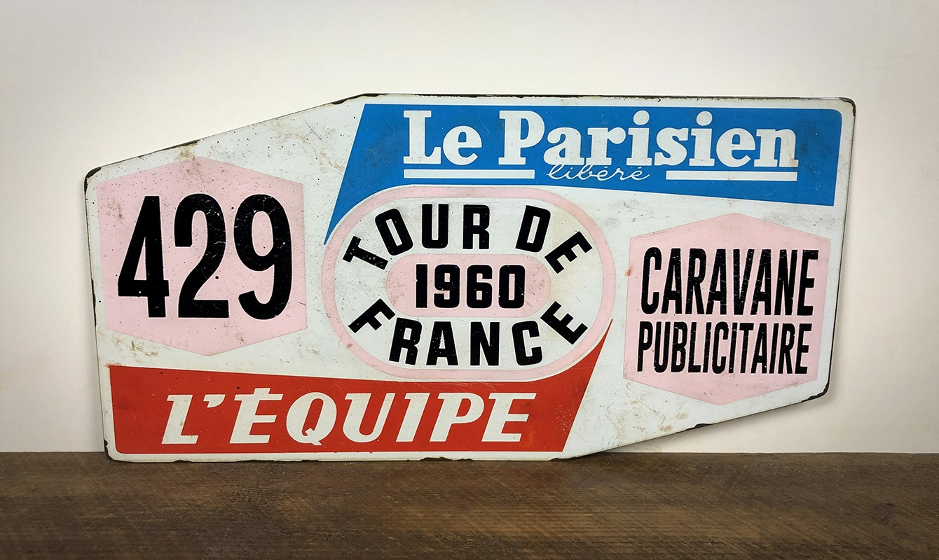 Plaque tour de France 1960