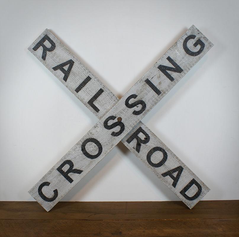 Panneau Rail Road Crossing