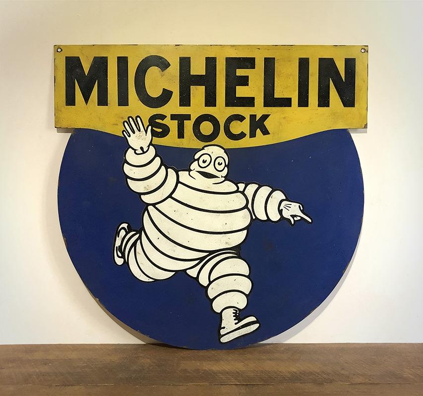 Plaque Michelin Stock