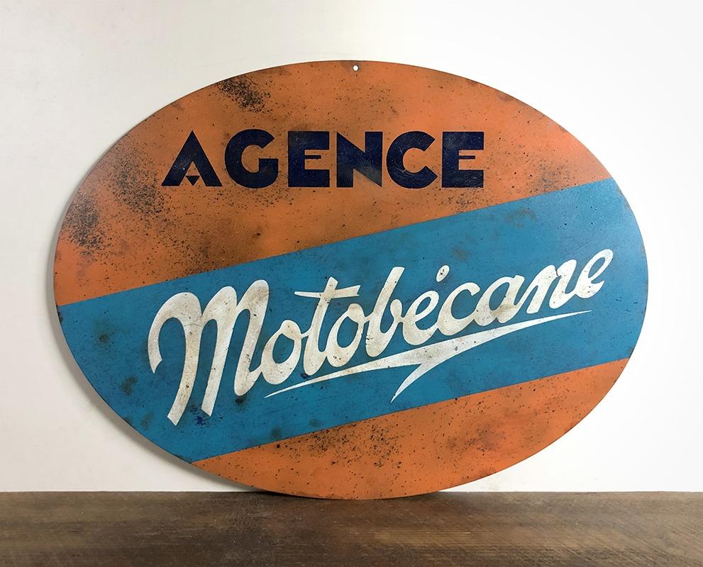 Plaque Motobécane