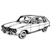 Renault 16 TX Année 79