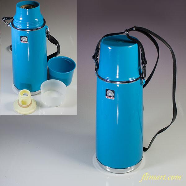 孔雀印魔法瓶保温水筒青0.55L